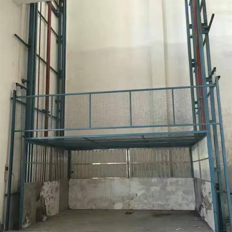 固定链条式升降货梯 壁挂导轨式液压货梯 小型简易货梯 升降货梯示例图16