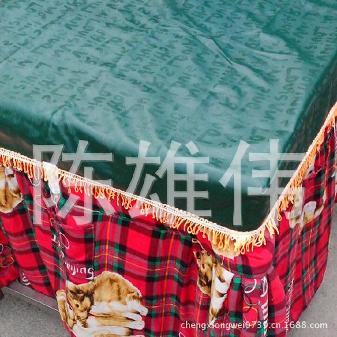 厂家生产 电取暖桌皮革桌罩 电烤桌套 正方形考火桌套示例图8