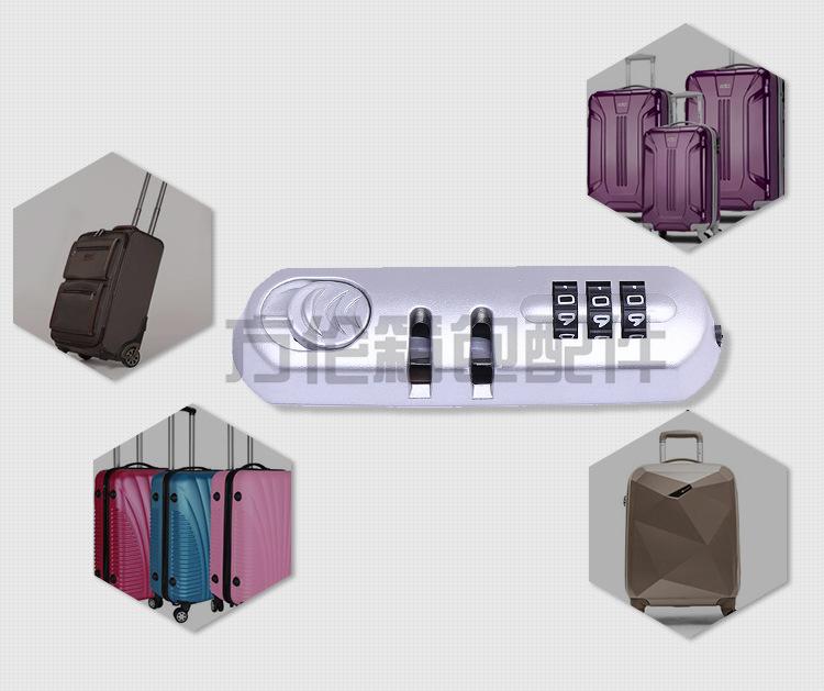 厂家直销拉杆箱配件旅行箱包挂锁 行李锁健身房小挂锁防盗锁批发示例图3