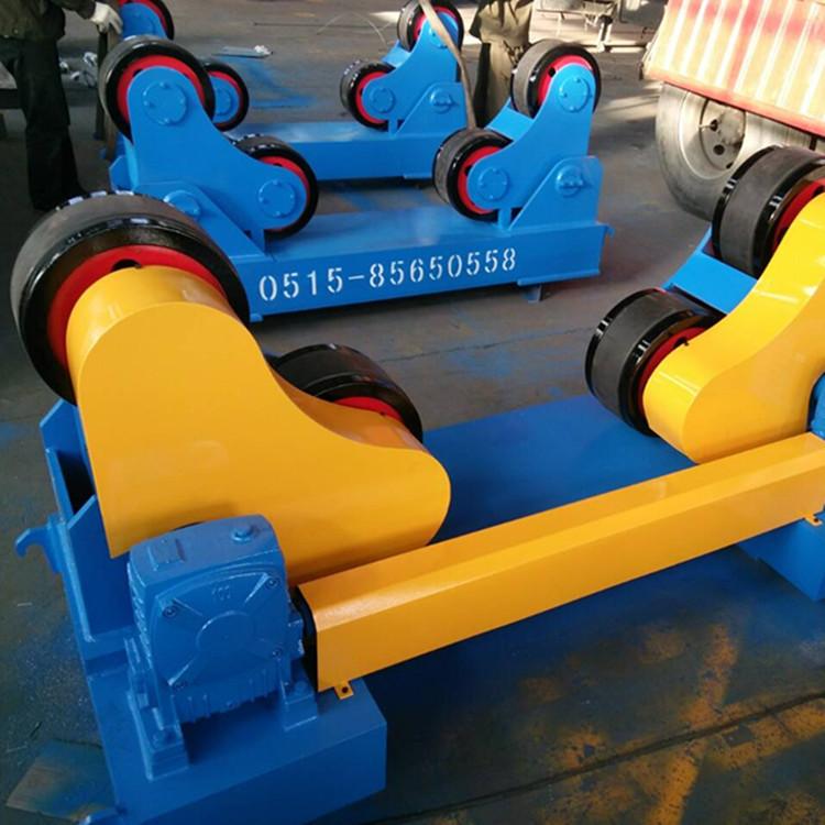 可调式滚轮架江苏厂家直销2015款100吨自调式滚轮架示例图1