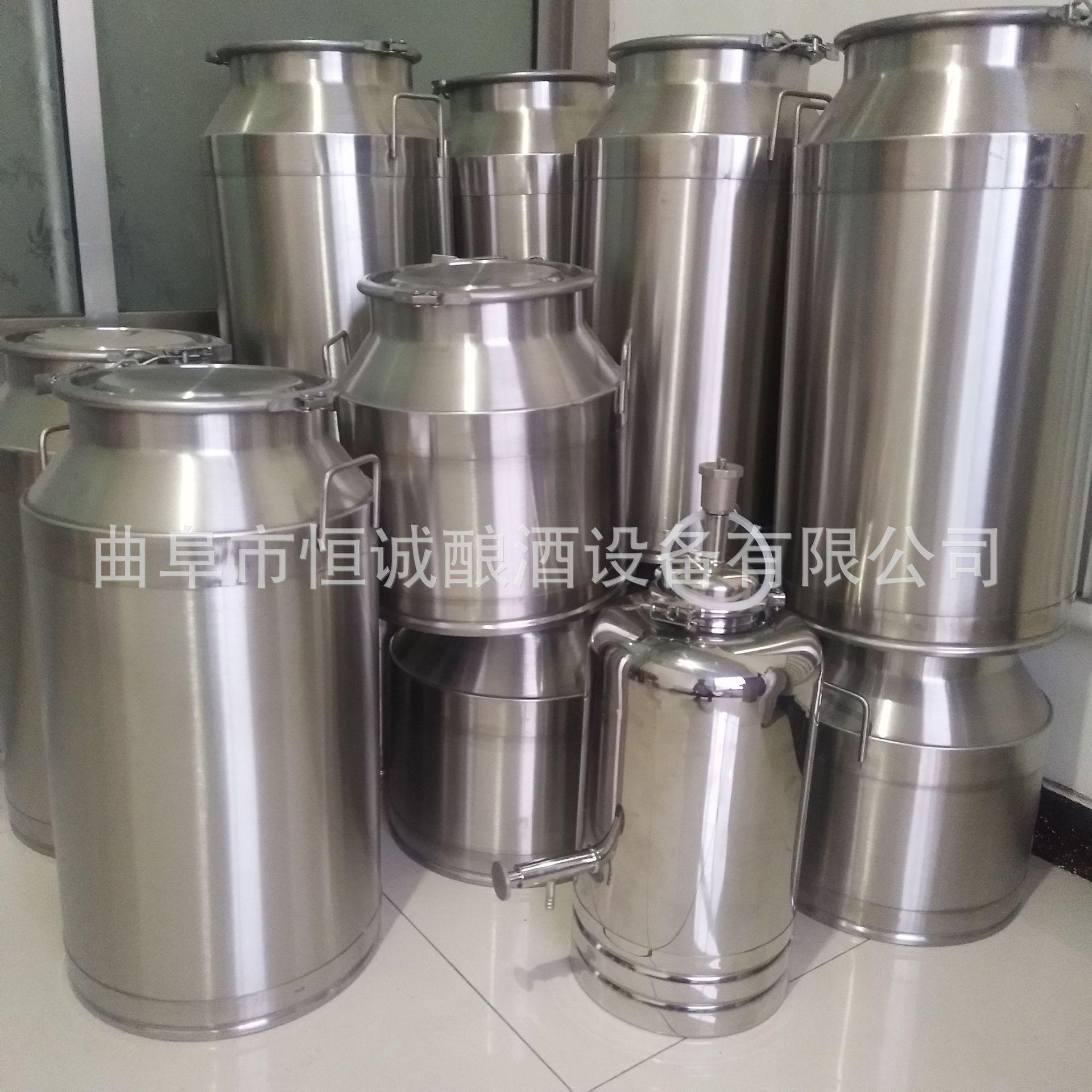 不锈钢304加厚密封酒桶 50升100升 200升定做加工储存酒水食用油示例图5