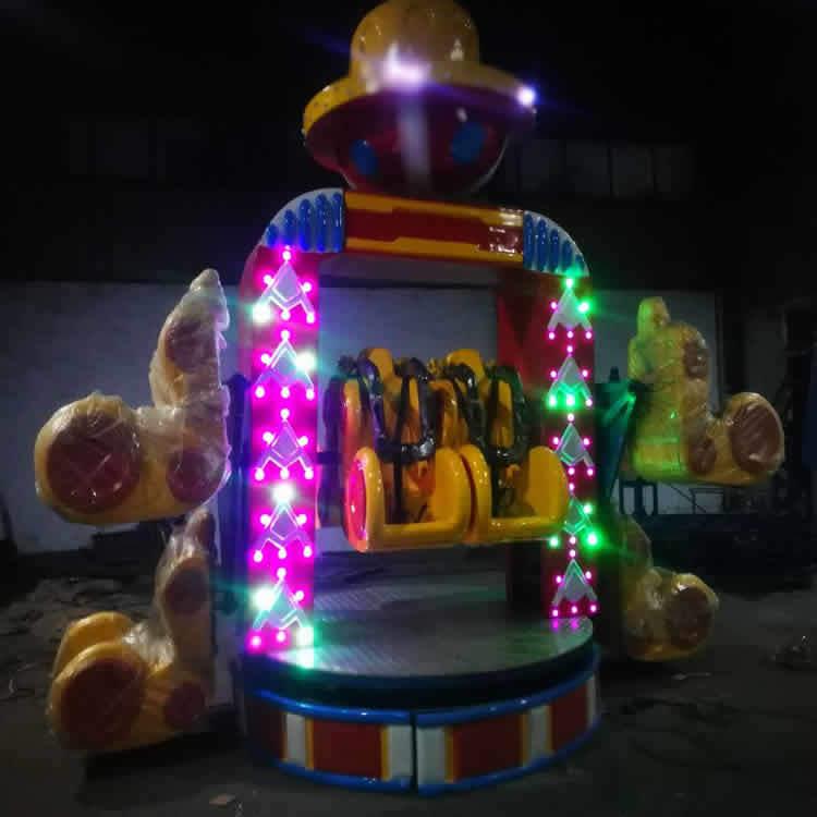 儿童游乐设备旋转快乐 郑州旋转快乐厂家 大洋供应新型旋转快乐游艺设施示例图7