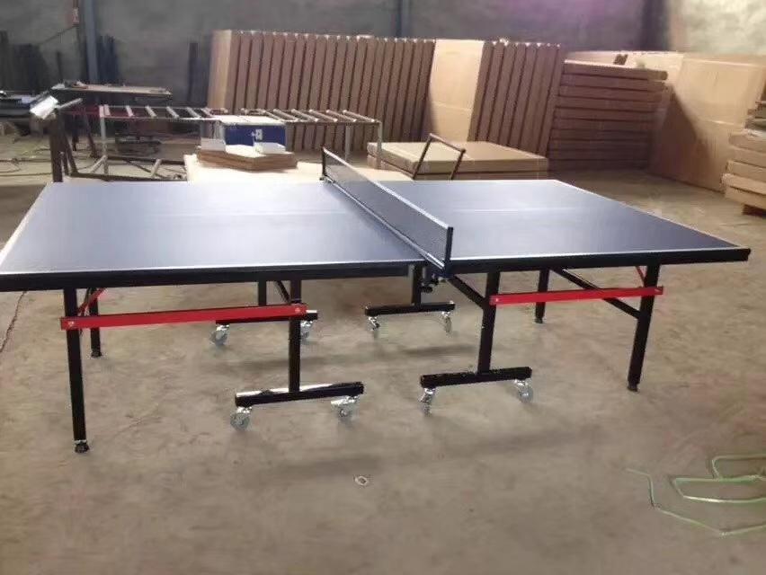 特价供应室内可移动乒乓球桌 家用标准乒乓球台 物美价廉售后无忧示例图8