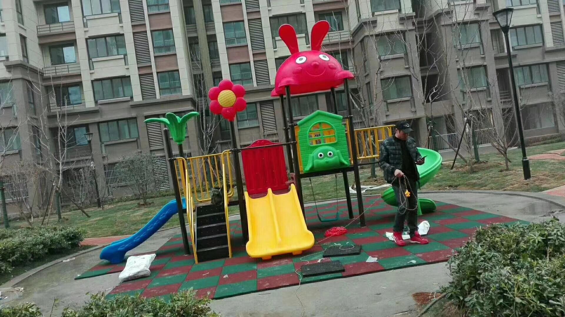 专业生产定制室外小区广场幼儿园滑梯 户外儿童乐园滑梯 物美价廉示例图13
