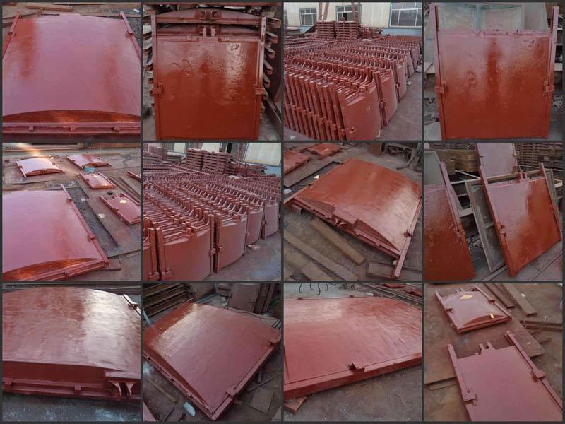 河北弘鑫水利 1.5米×1.5米铸铁闸门 渠道铸铁闸门 厂家直销示例图4