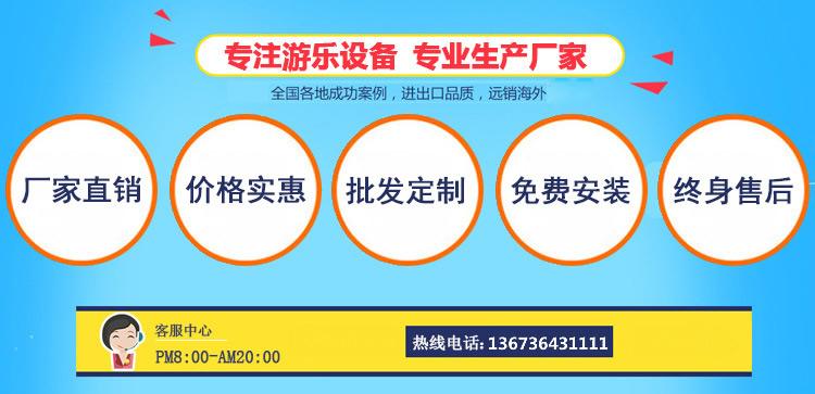 新款广场小型游乐设备小蹦极 郑州大洋专业生产4人蹦极游乐设备示例图54