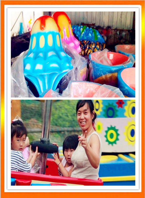 郑州大洋专业生产逍遥水母游乐设备 公园精品游乐8臂旋转逍遥水母示例图6