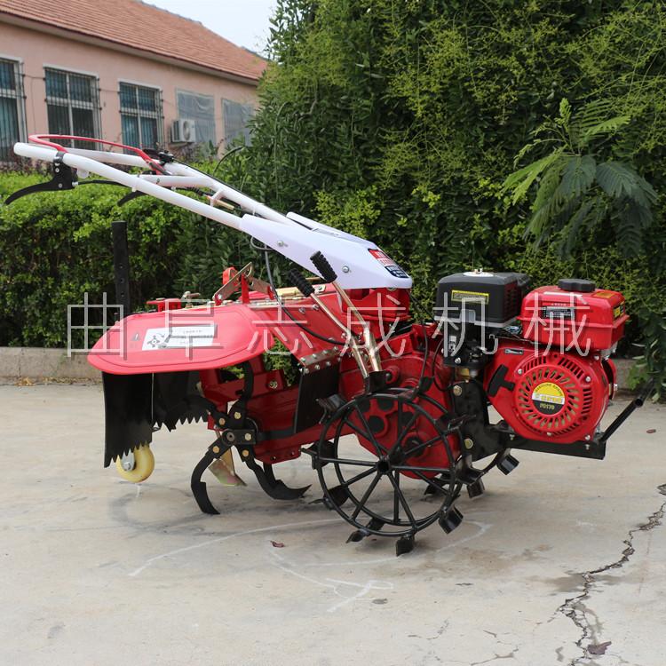 厂家直销 四驱微耕机 汽柴油大马力微耕机 ZC-170型旋耕锄草机 志成示例图7