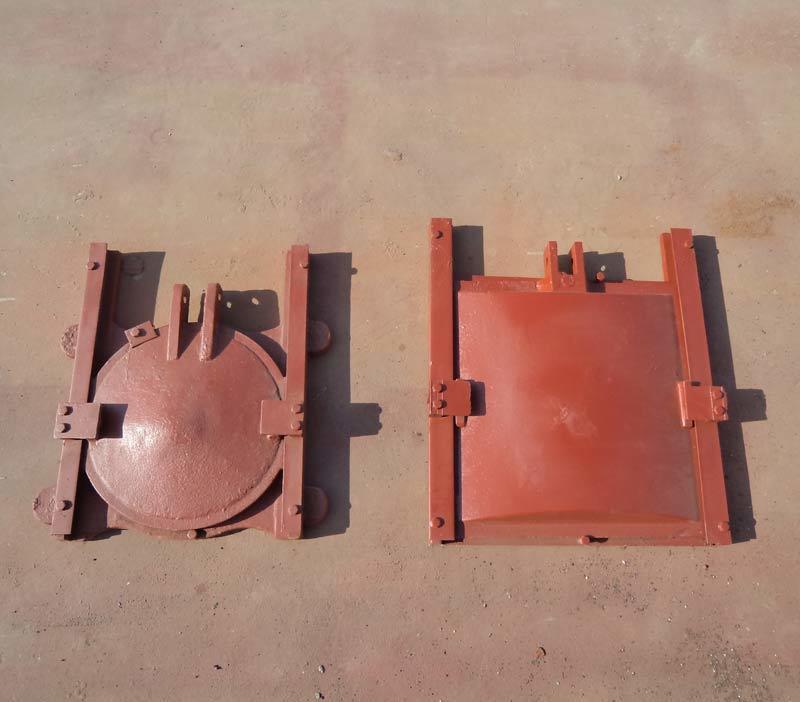 河北弘鑫水利 1.5米×1.5米铸铁闸门 渠道铸铁闸门 厂家直销示例图3