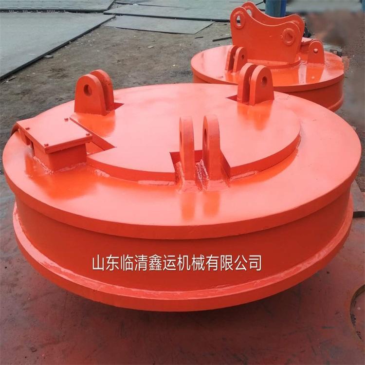 廠家直銷起重電磁吸盤 1.2米強磁起重電磁鐵吸盤鑫運起重電磁吸盤示例圖19
