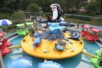 大洋水上游乐儿童激战鲨鱼岛给你不一样的娱乐体验 8臂激战鲨鱼岛项目示例图8