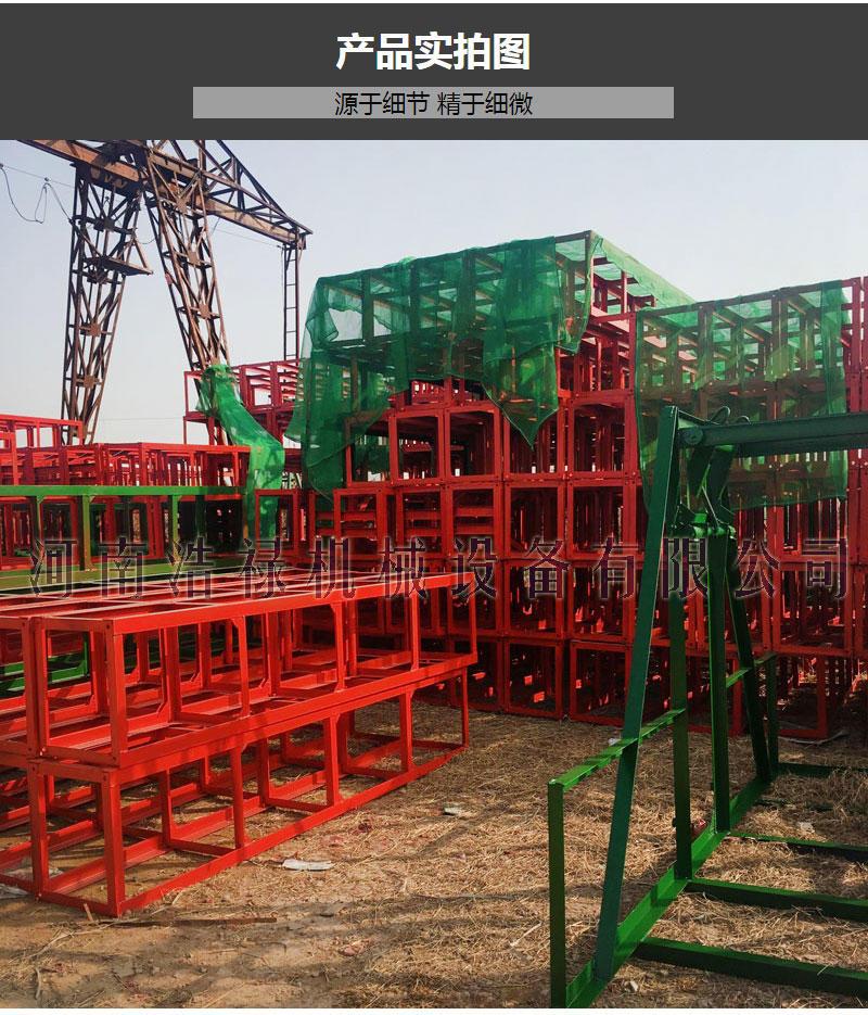 建筑用自升式龙门架 SSE160型双柱单笼施工升降机 货用物料提升机示例图13