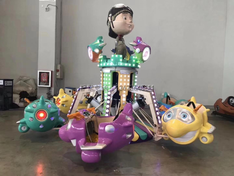2020大洋新款卡通动画造型无轨大象观光火车 儿童乐园大象观光小火车示例图27