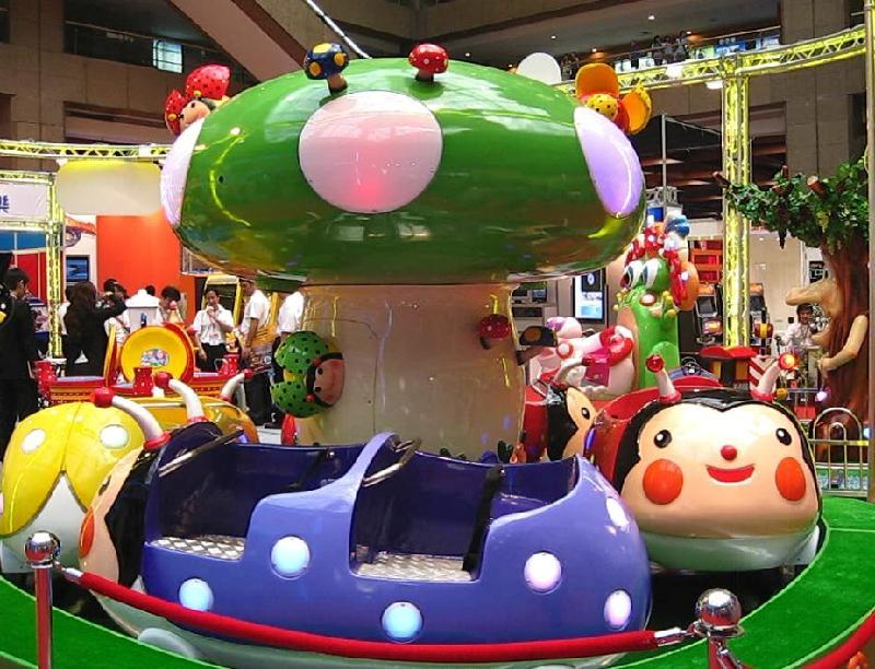 儿童小型游乐设备瓢虫乐园 郑州大洋保质保量室内6车瓢虫乐园项目示例图4