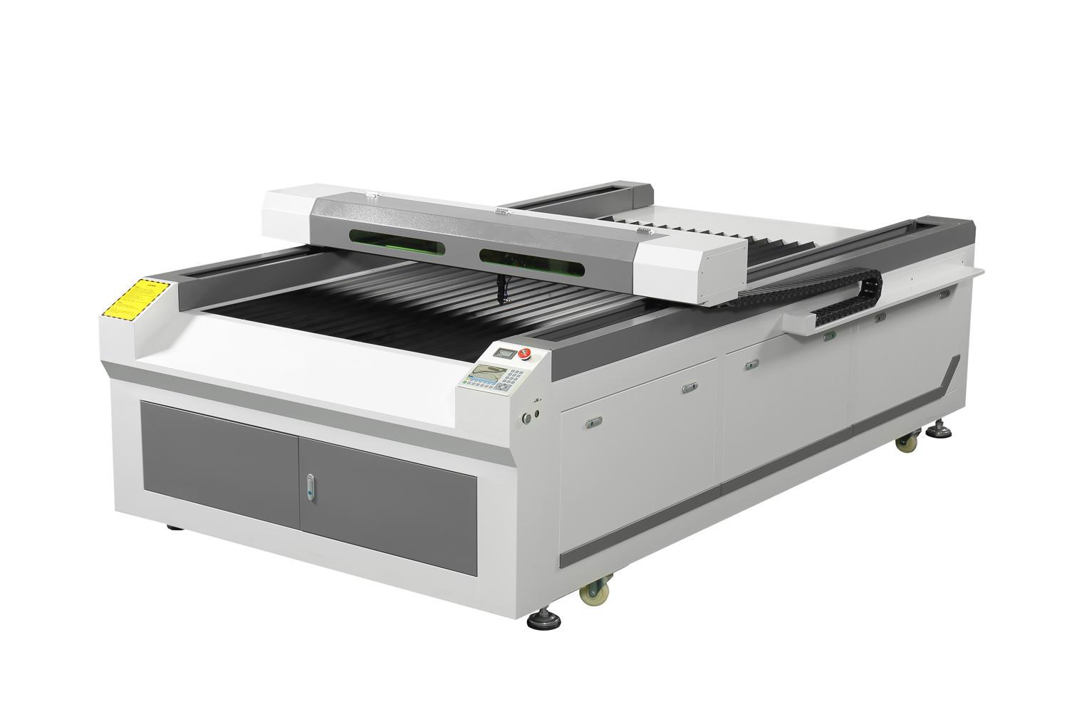 1325型易铭400w木板刀模切割机  可切割18mm厚600W激光切割设备示例图1