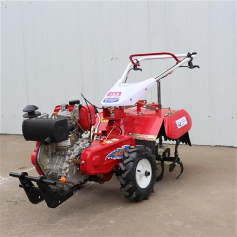 新型后旋式四驱微耕机 大棚翻地松土机 ZC-188型手扶式柴油开沟机志成机械示例图9