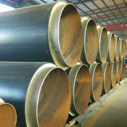 新疆烏魯木齊聚氨酯保溫管鋼套鋼蒸汽保溫管復合耐高溫保溫管聚氨酯管殼生產廠家
