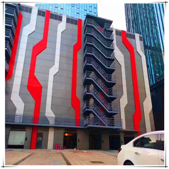 時尚的建筑裝飾因鋁單板存在
