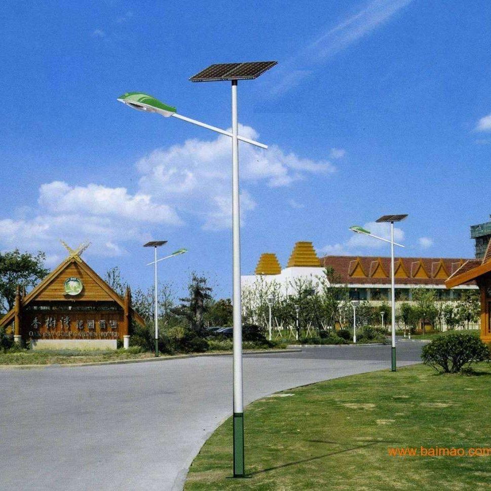 廠家批發 鋰電池6米30瓦路燈 高亮度太陽能路燈廠家 浩騰照明