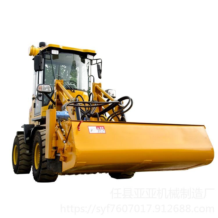 裝載機掃路車 鏟車改掃地車 滑移裝載機 特點優勢合作案例