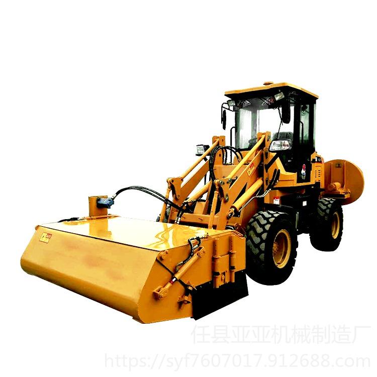 亞亞機械清掃車,道路施工清掃車,十年專業生產工地工程掃地機產品