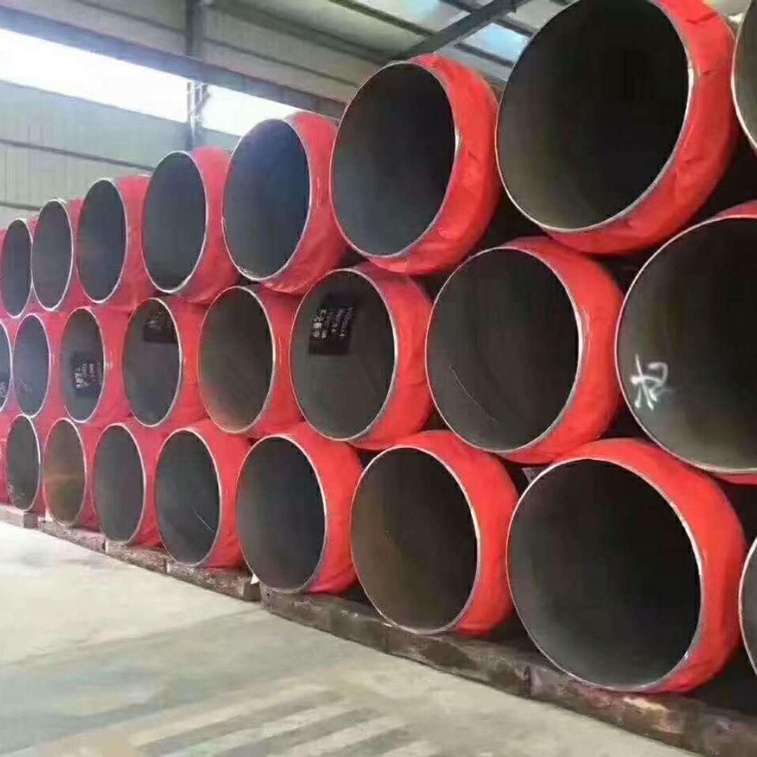 洲際夾套鋼聚氨酯保溫鋼管深受顧客歡迎