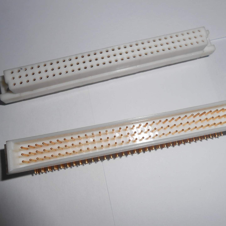 大电流插座 96芯线簧印制板连接器 生产批发 东普电子