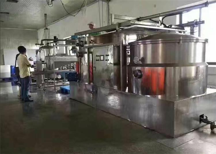 低温真空油炸机  得宝  配套的果蔬加工设备 肉制品加工设备  ZK-500 口感酥脆 无油腻感示例图9