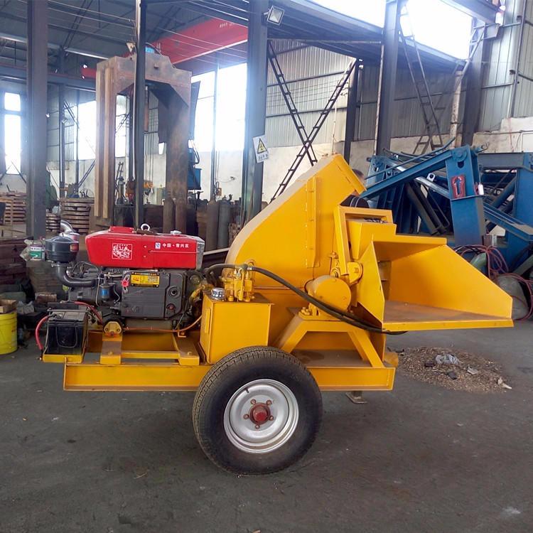 天申供應大型木材粉碎機 圓木木材粉碎機 移動雙口木材粉碎機 移動木材粉碎機