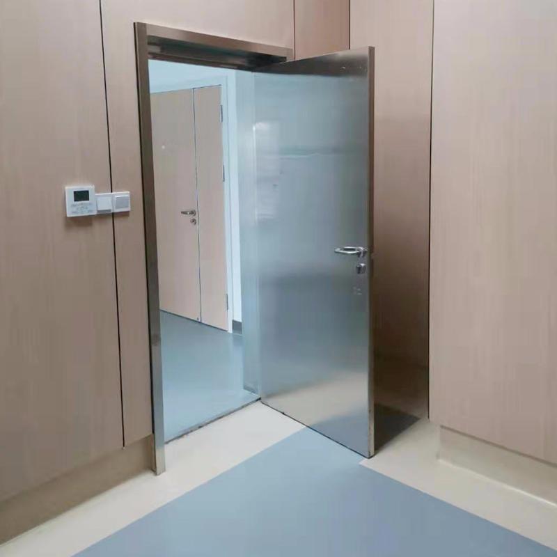 防輻射鉛門 x光室鉛門 防輻射電動推拉門 子母門 防輻射單開門