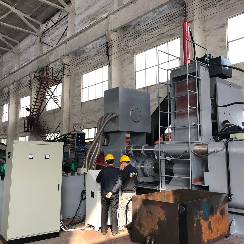 廠家直銷1000噸鋼刨花壓餅機 鐵屑壓餅機 冶金液壓