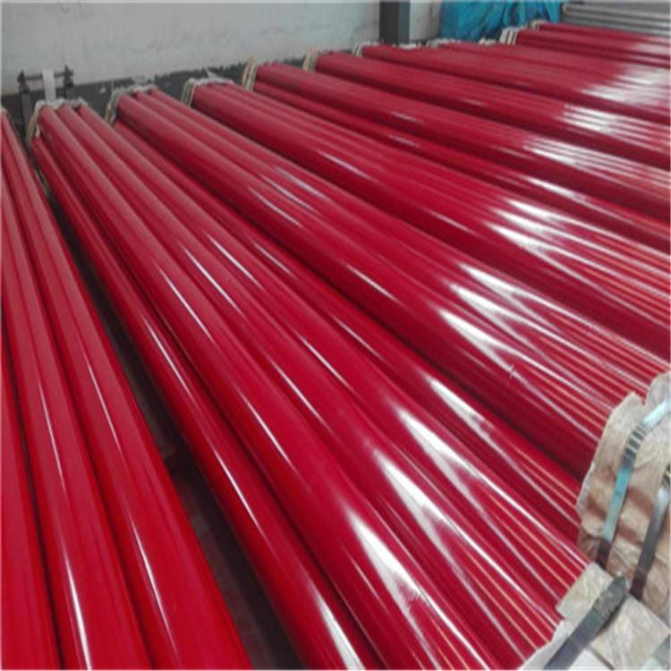 龙都供应 内外涂塑钢管 电力涂塑管 涂塑螺旋钢管