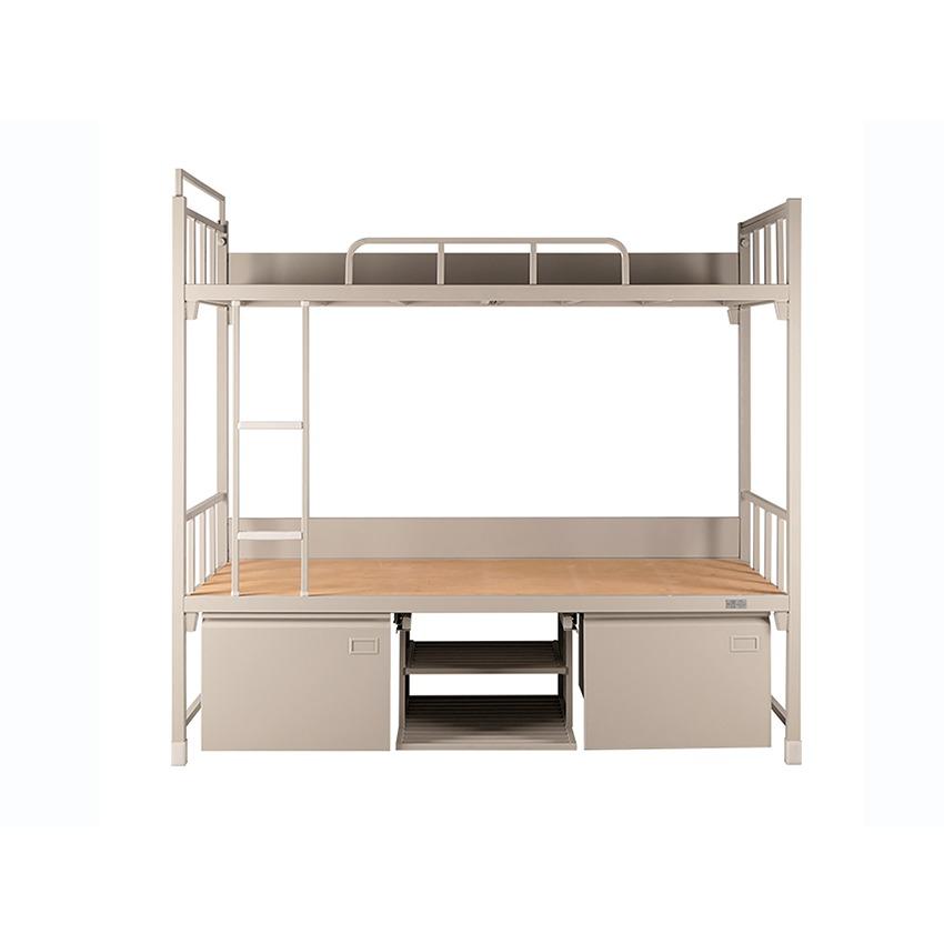 工廠員工鐵架床高低床上下鋪鐵床宿舍雙層部隊高低鐵床廠家