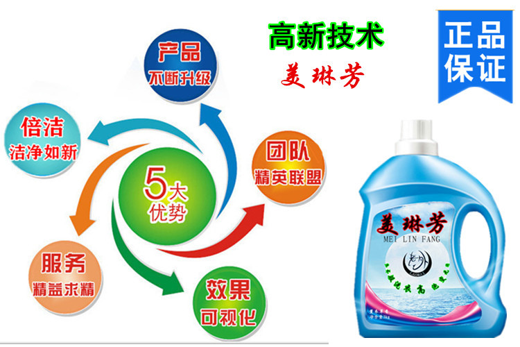 美琳芳精品除菌洗衣液示例图4