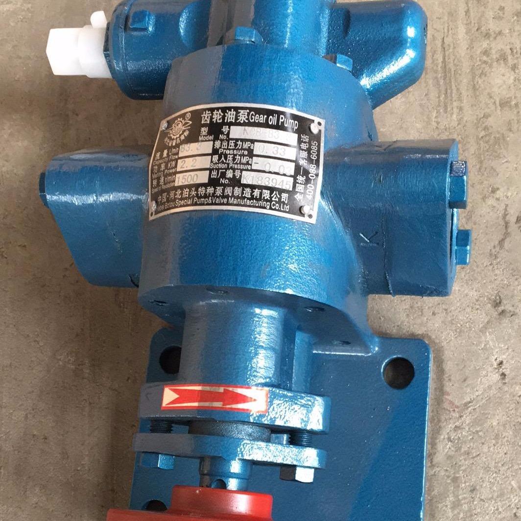 泊泵供應 微型齒輪油泵 齒輪油泵 電動油泵 KCB-83.3 電動齒輪油泵