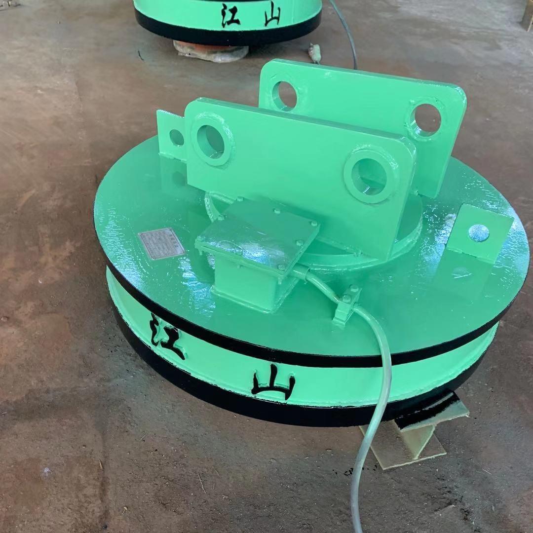 廢鋼裝卸車專用強磁吸盤 江山強磁吸盤
