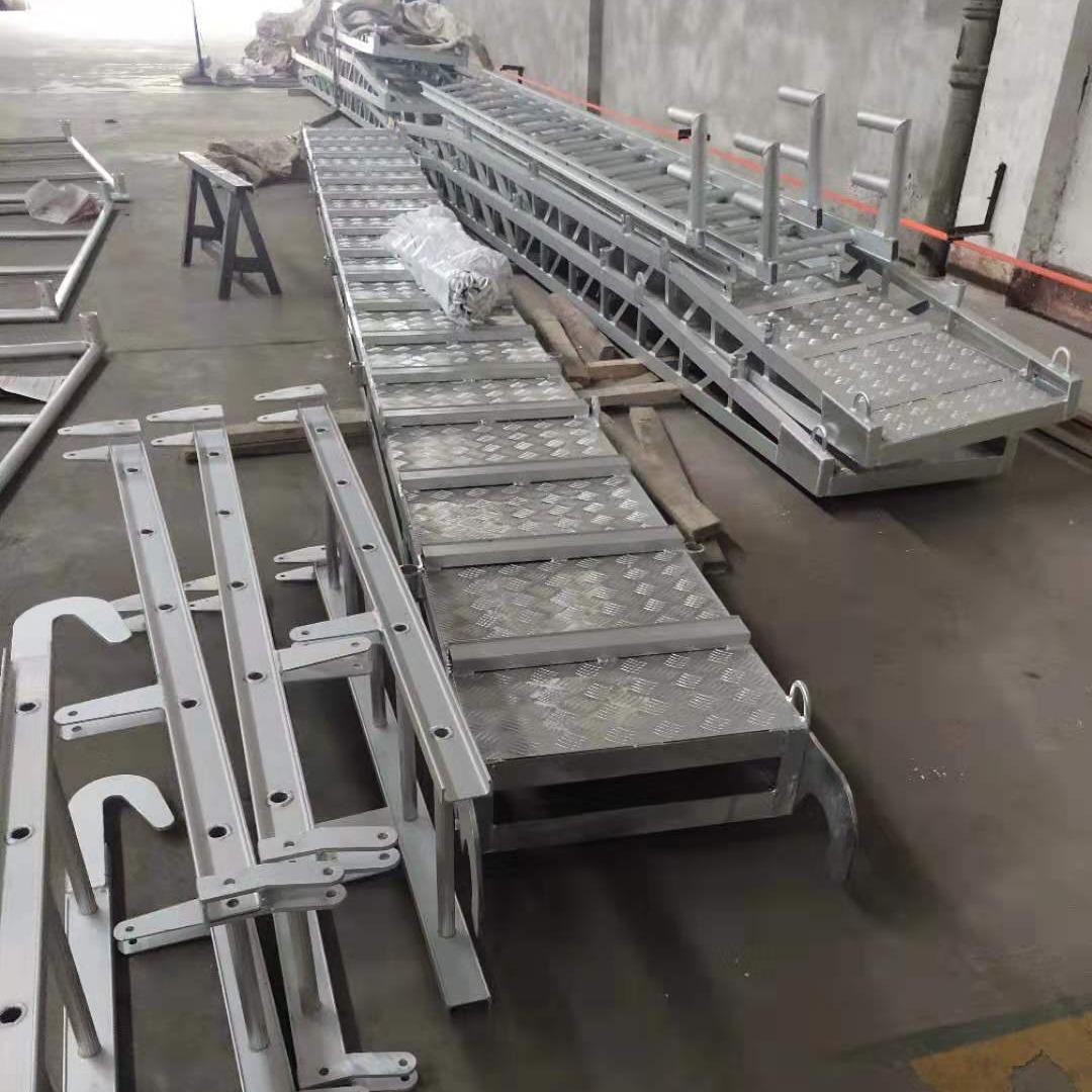 舷梯码头梯  宝恒标准件舷梯码头梯   可定制