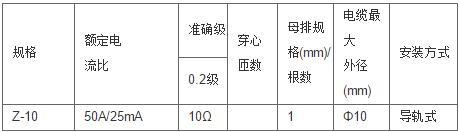 安科瑞,测量型电流互感器,AKH-0.66-60I,额定电流比1000-2500/示例图8