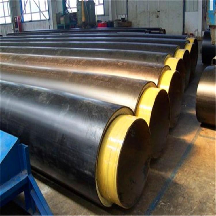 龍都管道生產,耐高溫蒸汽保溫鋼管,鋼套鋼蒸汽保溫管,冷庫用聚氨酯黑皮子保溫管,服務廠家