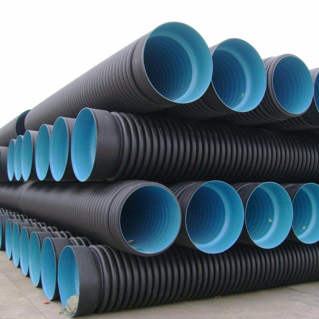 500s2PE雙壁波紋管    雙壁波紋排污管  生產廠家炳耀建材