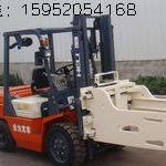 忻州二手平夾抱叉車市場 合力3噸廢紙夾包叉車價格