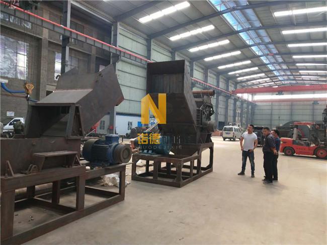废铁破碎机生产厂家 800-3000型废钢铁粉碎机 废钢破碎线 诺德机械制造示例图6