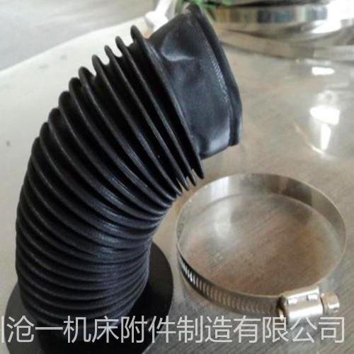 滄一生產液壓油缸防塵罩活塞桿密封套橡膠布絲杠防護罩
