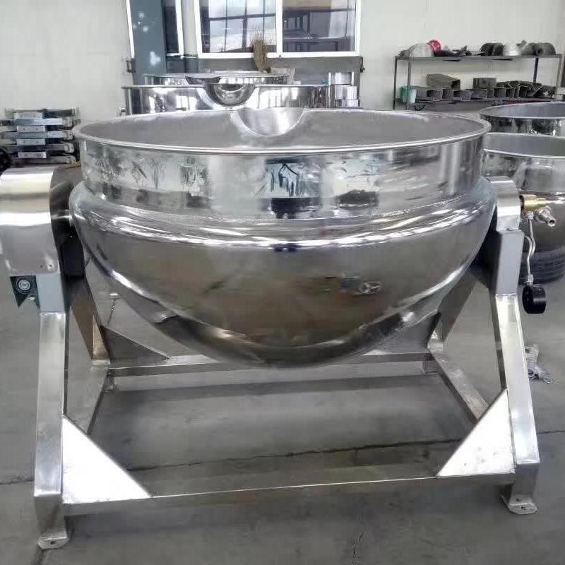 双骏50L-1000L稀饭肉类电加热夹层锅   火锅底料酱料行星炒锅  粽子锅
