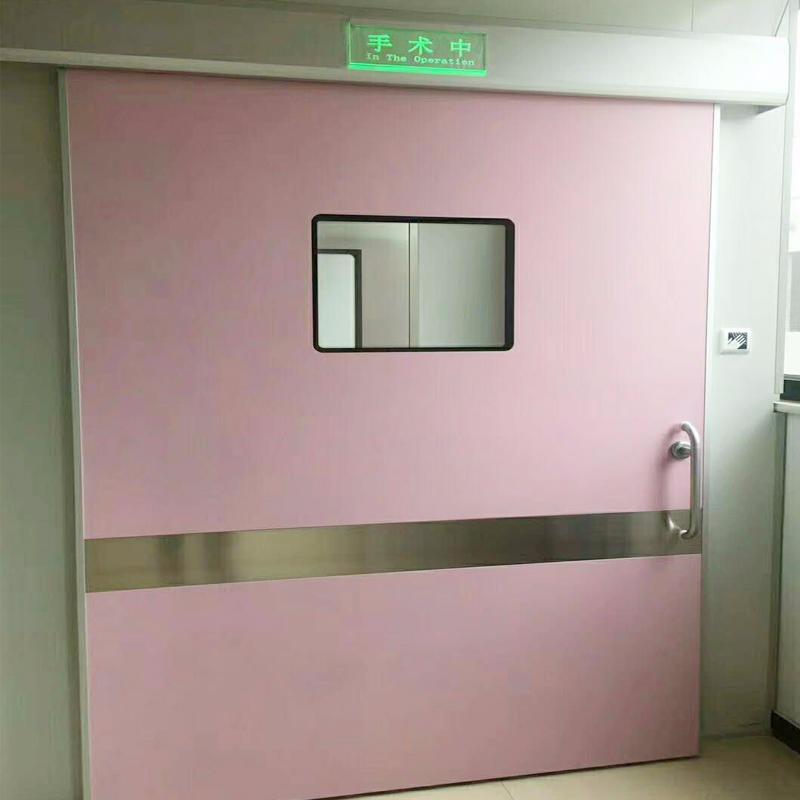 防輻射鉛門 純鉛板門廠家 拍片室射線防護門 手術室電動門 手術室電動氣密門