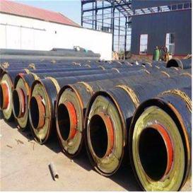 厂家直销3PE防腐钢套钢岩棉保温钢管 地埋式防腐钢套钢保温钢管