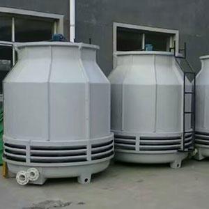 廠家定制  圓形逆流節能低噪音 玻璃鋼冷卻塔 玻璃鋼涼水塔