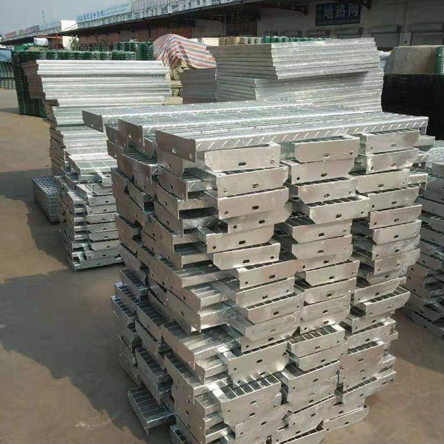 現貨直銷精品熱鍍鋅踏步板 定制異形鋼格柵板 不銹鋼格柵板