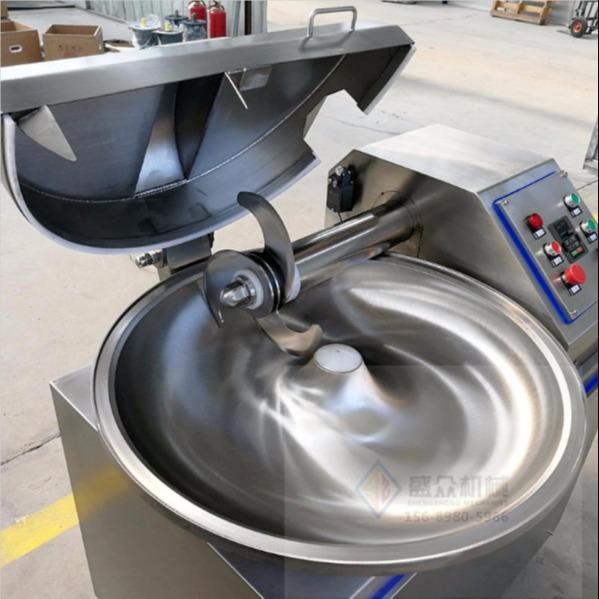 盛眾機械全自動斬拌機 大型斬拌機商用 成套肉制品加工設備適合創業使用