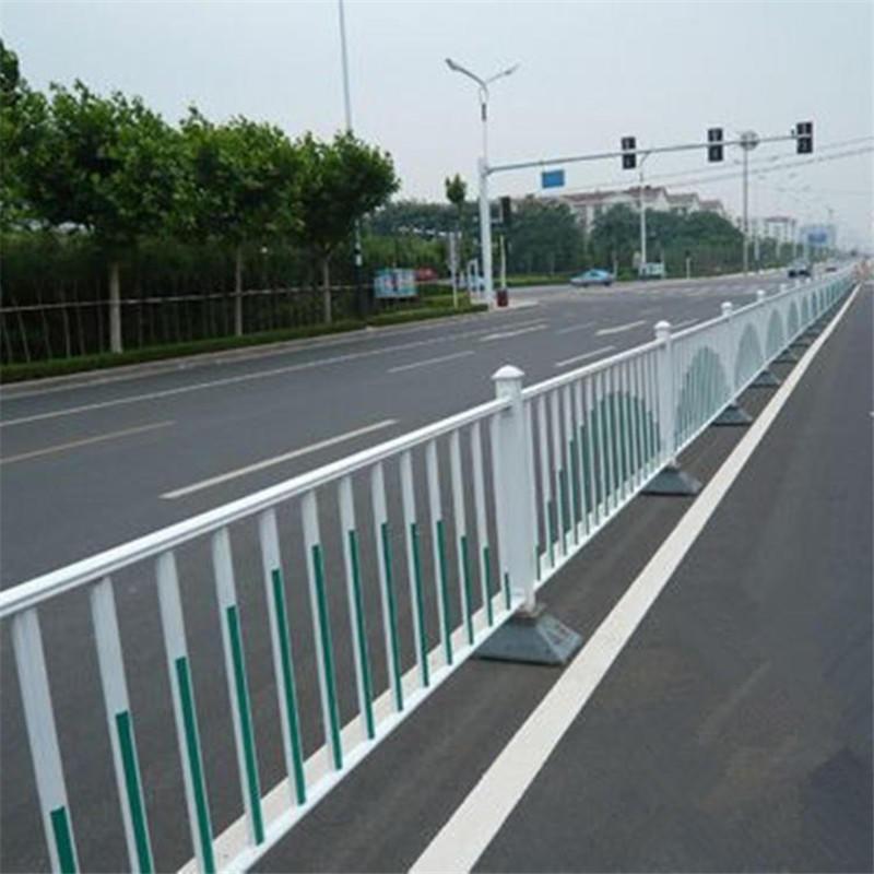 交通道路锌钢护栏 马路市政护栏 机非车道防撞栏
